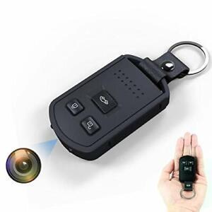 Mini Hidden Spy Camera Hd 1080P Key Chain Fob Cam Night Vision Motion Detection