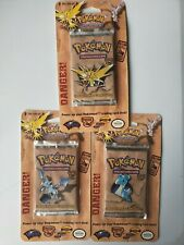 Pokemon Fossil Blister Booster Pack, Set of 3! (Please Read Description)