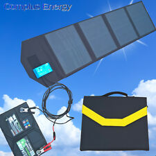 50W Plug & Play Complete Portable & Folding Solar Kit - German Cells Only 4.0KG