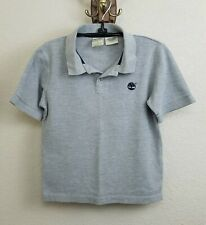 5213d15b Boy's Timberland Short Sleeve Polo Shirt / Gray / 100% Cotton / Size: S