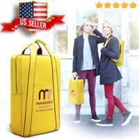 Women's Portfolio Briefcase Attache Case Messenger Shoulder Laptop Bag Backpack
