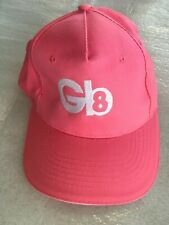 Gb 8 Logo Pink Womens Promotional Golf Hat