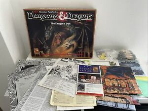 TSR Dungeons & Dragons The Dragons Den Adventure Pack - Part Unpunched 95% Compl