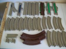 Thomas the Tank Engine Hit Toy Co./Mattel Brown Plastic Train Track Lot  31 pcs