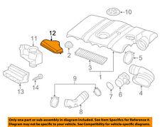 VW VOLKSWAGEN OEM Air Cleaner Intake-Inlet Duct Tube Hose Cover 1K0805965J9B9
