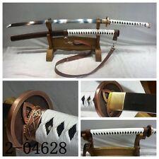"""41""""inch Walking Dead Samurai Sword-Michonne's Katana 1095 Steel Battle Ready#076"""