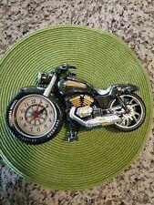 Motorcycle Motorbike Pattern Alarm Clock Creative Home Cool Clock Birthday Gift