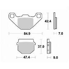 Pastilla freno Semimétalica traseras RIEJU RS3 125 2011 2012