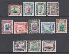 North Borneo Sc 208-219 MNH. 1945 BMA overprints, short set to 50c value