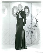 Claire Trevor (Vintage) signed photo COA