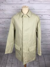 Mens Magee Trench Coat - 50 UK44 Large Cream - Great Condition