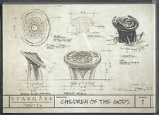 Stargate SG-1 Season 9 Production Sketches Set S1-S18