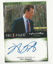 Robert Patrick The X Files Ufos & Aliens Paranormal Script Autograph Card #A-Rp