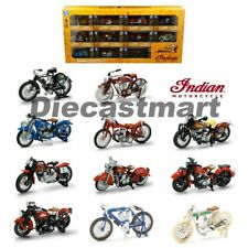 New Ray 1:32 Indian Motorcycle Assorted Window Box Set 11 Styles 06065