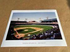 Tiger Baseball Stadium Detroit Photo Print