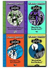 Lemony Snicket All The Wrong Questions 4 Books Collection Pack Set New