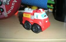"Tonka Cars Trucks CHUCK & FRIENDS 2.5"" FIREFIGHTER TOY TRUCK HASBRO"