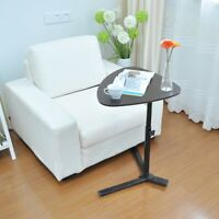 Mobile Rolling Laptop Desk Hospital Cart Overbed Sofa Side End Table TV Tray AK