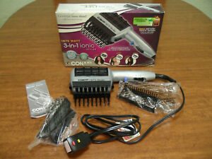 CONAIR 3 in 1 Ionic Styling Hair Dryer 1875 Watt 3 Attachments Dual Settings