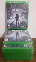 Metro Exodus+ FREE Metro 2033 Redux (Microsoft Xbox One) Brand New and Sealed!