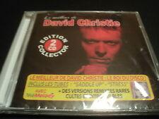 """COF 2 CD NEUF """"LE MEILLEUR DE DAVID CHRISTIE"""" tubes + remixes (Saddle up, Stress"""