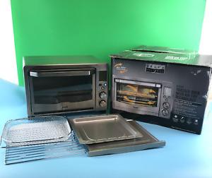 Bella - Pro Series 6-Slice Air Fryer 90082 Toaster Oven - Stainless Steel#BU0822