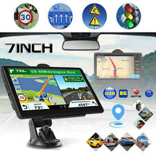"7"" 8GB Sat Nav Car Truck HGV GPS Navigation Free POI UK Maps Speedcam Update"