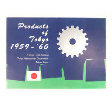 Vintage Products of Tokyo Japan 1959- 1960 Foreign Trade Ad Booklet Brochure