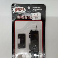 Atlas Right-Remote Switch Machine Item #53 HO Code 100 Track - Brand New Unopene