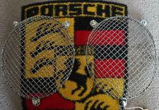 Porsche 356a/b/c 1960-65 A superb original, pair of Wire mesh headlight grills,