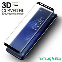 Premium 9H 3D Edge Curved Screen Protector Full Coverage Tempered Glass Film