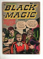 Black Magic Vol.2 #6 1952 KIRBY COVER/ART! 1 ROUSSOS & 2 MESKIN ART! VG+ 4.5; V2