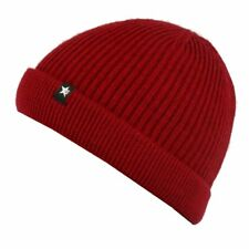 Esperando Shorty Rolli Beanie Silent Red Mütze Strickmütze Wintermütze Rot