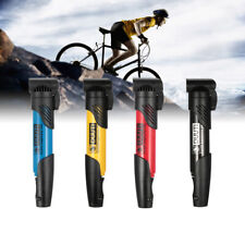 Mini Portable Bicycle Air Pump Tire Inflator MTB Road Bike Cycling Pump UK