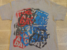 DGK ALL DAY stencil graffiti T-SHIRT spray paint tag street art dirty ghetto kid