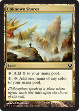 Unknown Shores X4 NM Theroes MTG  Magic Land Common