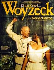 WOYZECK 1978 Klaus Kinski WERNER HERZOG FRENCH POSTER