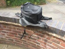 GENUINE APRILIA SL750 SHIVER TANK COVER & TANK BAG GOOD USED CONDITION.