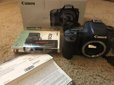 Canon EOS 7D 18MP Digital SLR Camera - Black (Body Only)