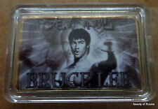 Bruce Lee      24K GOLD  PLATED 40 mm x 28m   COIN   bar  #2