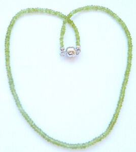 Harry Ivens IV Collier Peridot Magnetverschluss in Silber 925
