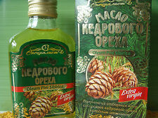 NEW,EXPIRY 11/2018 PURE AND NATURAL SIBERIAN CEDAR PINE NUT OIL.UNREFINED 100ML.
