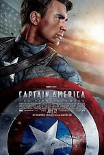 Captain America The First Avenger (2011) Movie Poster (24x36) - Chris Evans v2