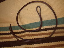 Over and under whip - barrel racing OILED  USA!  Custom Harness leather H985