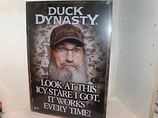 Duck Dynasty-Look At This Icy Stare I Got`2013`A & E Hit Tv Show-Metal Sign->New