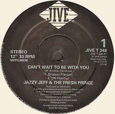DJ JAZZY JEFF & THE FRESH PRINCE - Can't Wait To Be With You - Jive