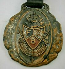 Knights of Pythias Insurance Department Watch Fob Mfg. by Whitehead & Hoag Co.