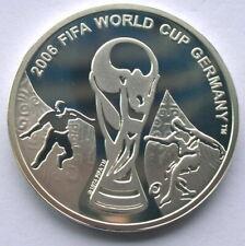 Georgia 2006 World Cup 1 Lari Silver Coin,Proof