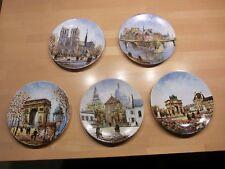5 Stück Sammelteller 21,5cm Porcelaine de Limoges France Louis Dali - Lot 2 -