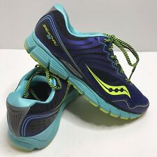 Saucony Breakthru 2  Running Shoes Women's Size 9.5 Purple Blue Green S10304-2